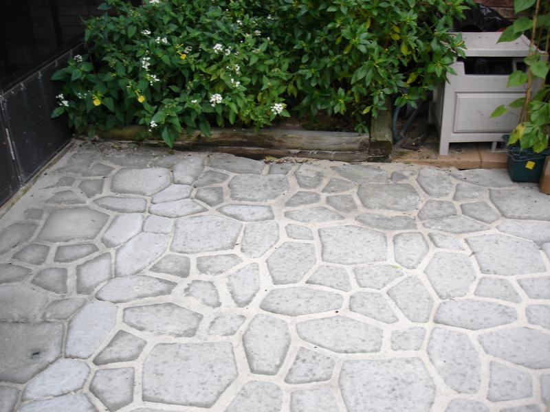 Image of: Cement Pavers For Sale