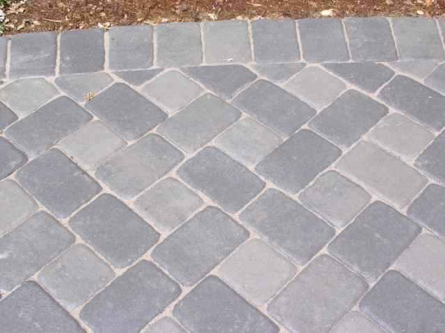 Image of: Cement Pavers Home Depot