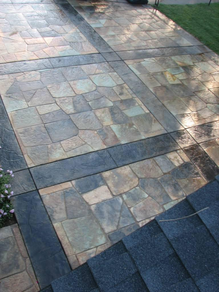Image of: Cement Pavers Menards