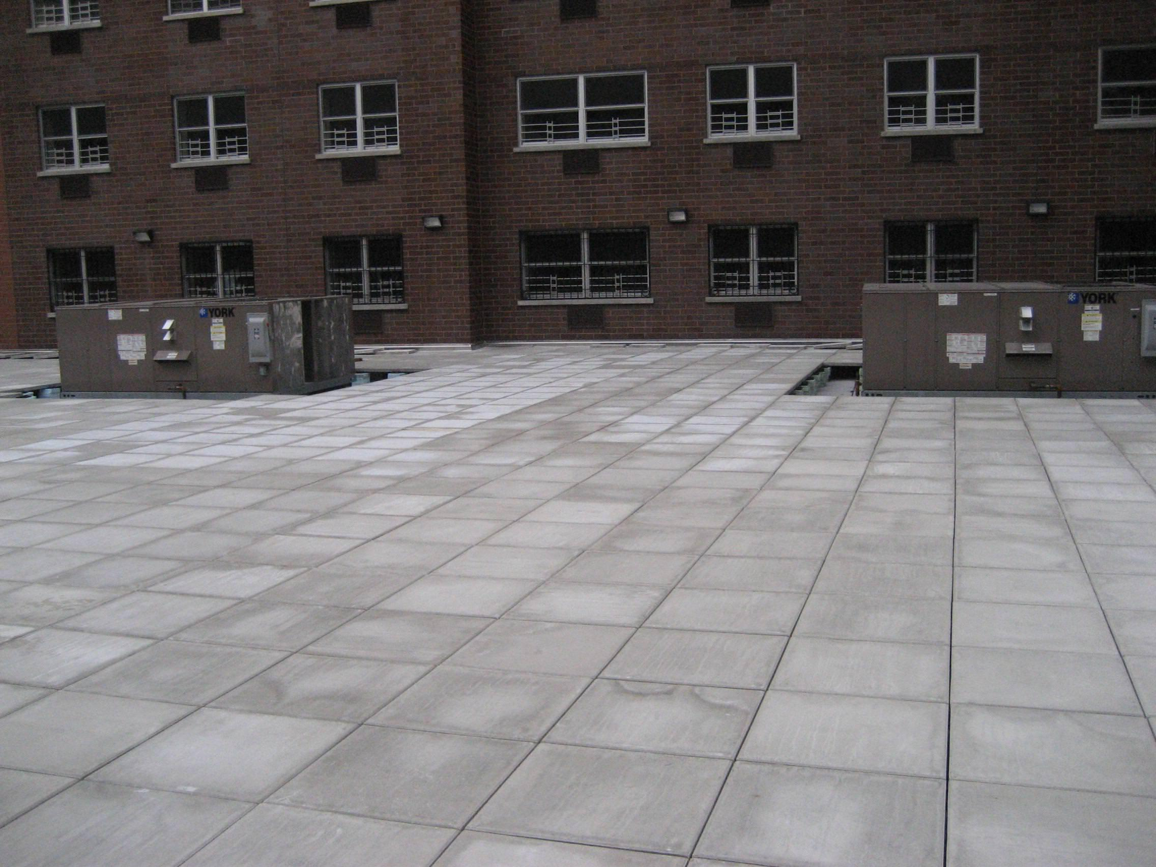 Image of: Cement Pavers With Holes