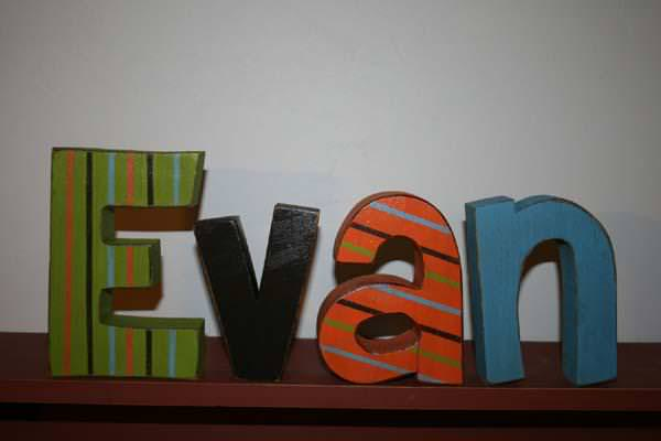 Picture of: Cheap Wall Letters For Nursery