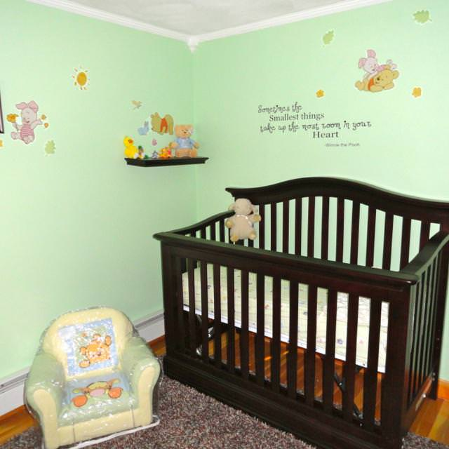 Picture of: Cool Classic Winnie The Pooh Nursery