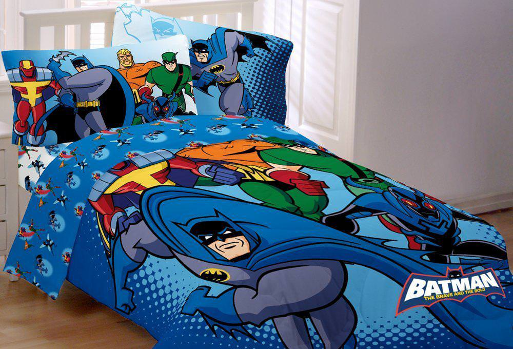 Picture of: Dc Comics Crib Bedding