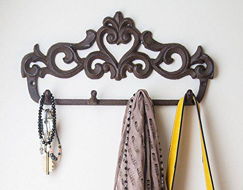 Image of: Decorative Wall Hook Rack