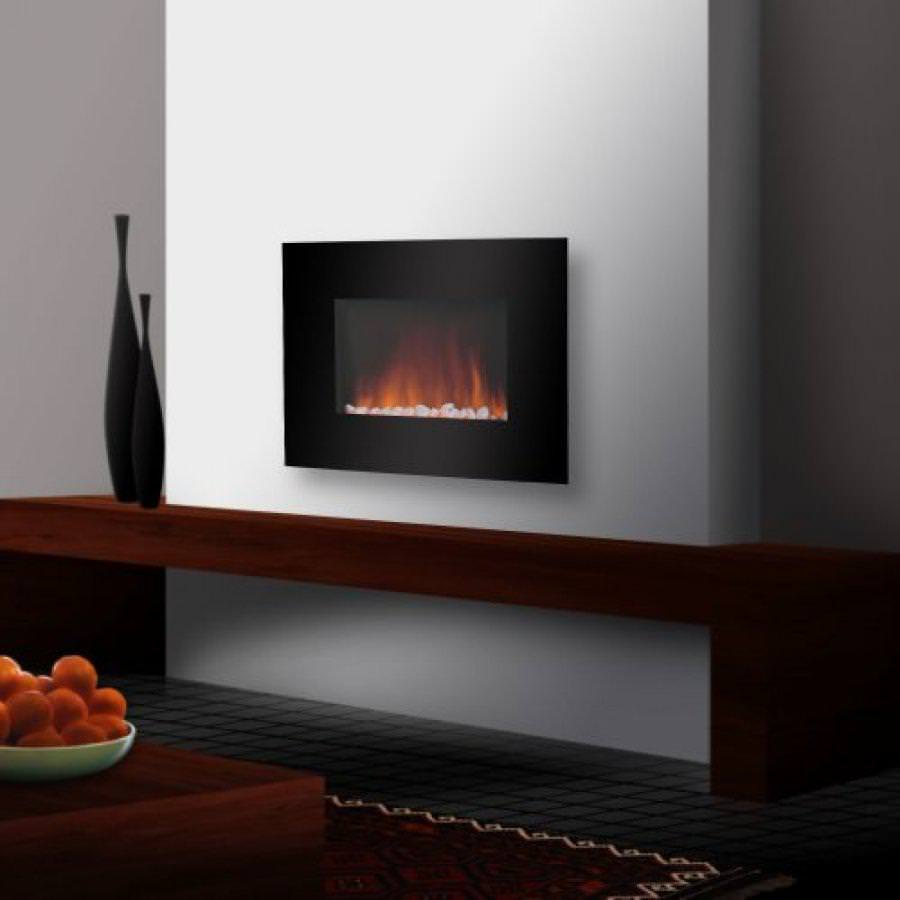 Image of: Electric Wall Fireplace Heater