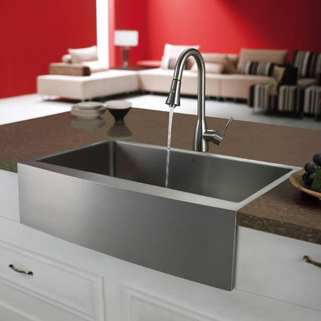 Picture of: Farmhouse Sink Stainless Steel 36