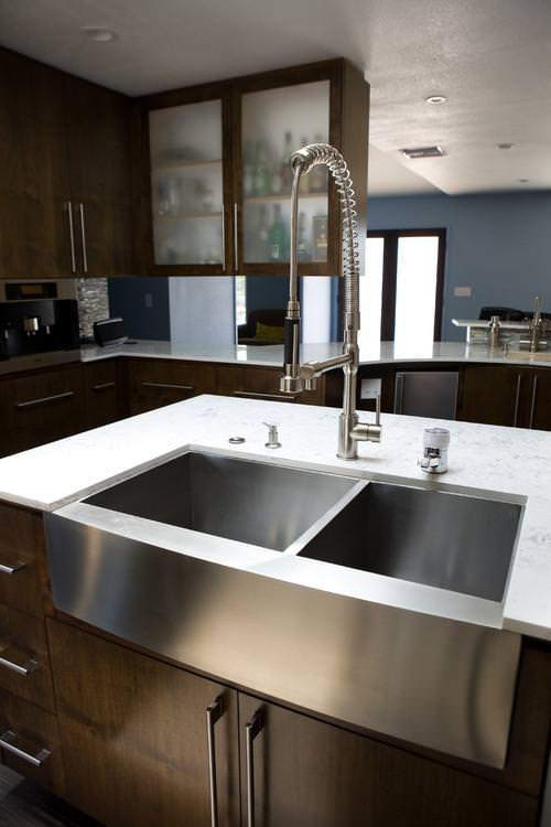 Picture of: Farmhouse Sink Stainless Steel Reviews