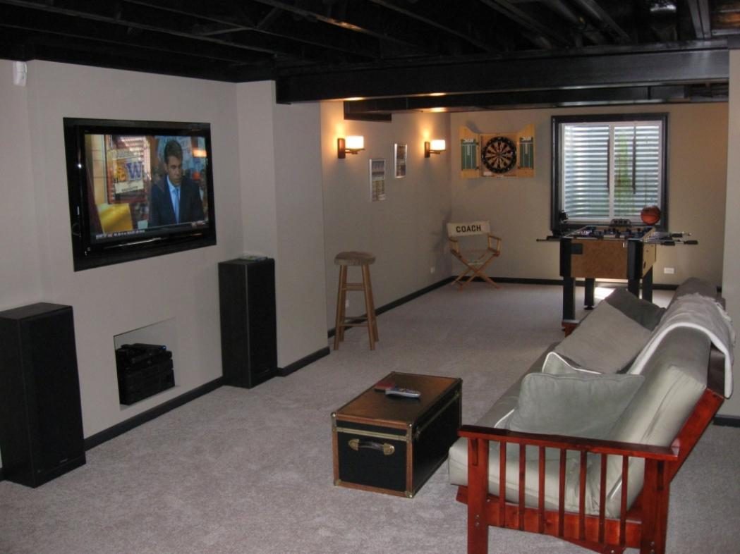 Image of: Finished Basement Photo Gallery