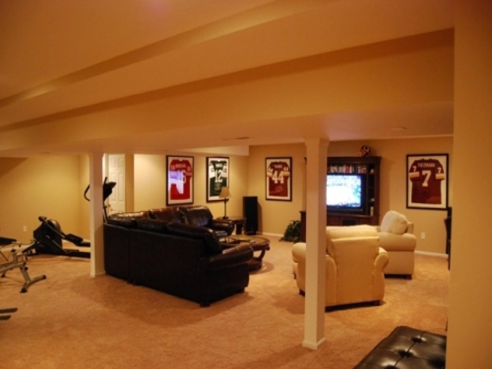 Image of: Finished Basements With Bedrooms