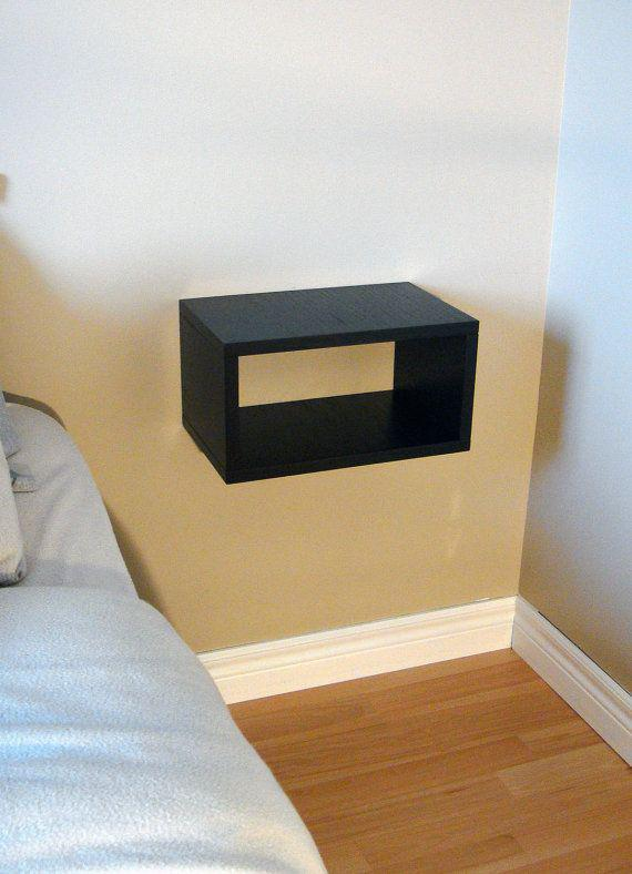 Picture of: Floating Nightstand Diy