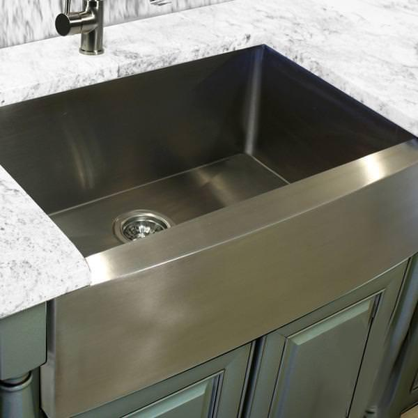 Picture of: Franke Farmhouse Sink Stainless Steel