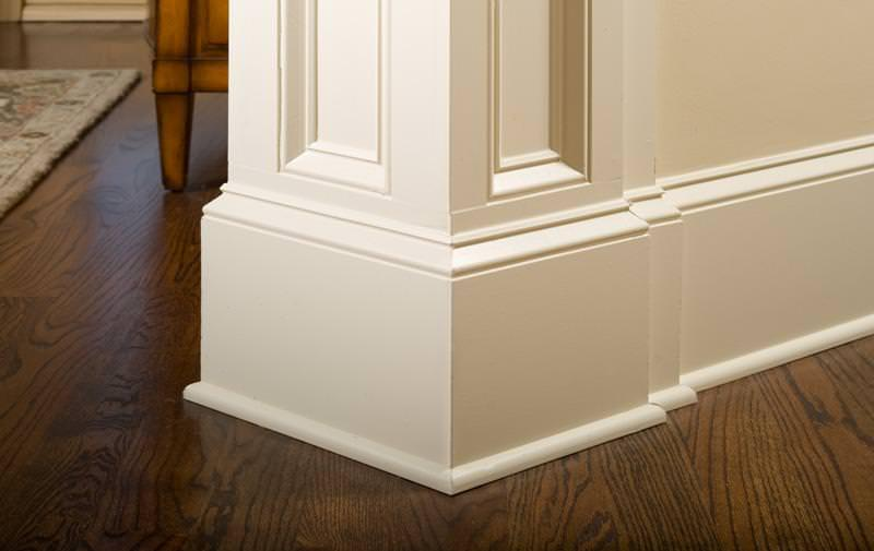 Image of: How To Nail Baseboards