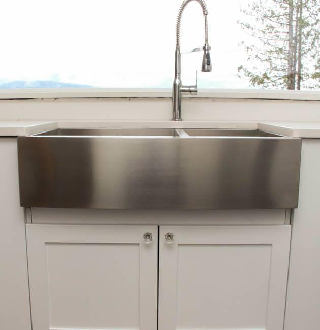 Picture of: Kohler Farmhouse Sink Stainless Steel