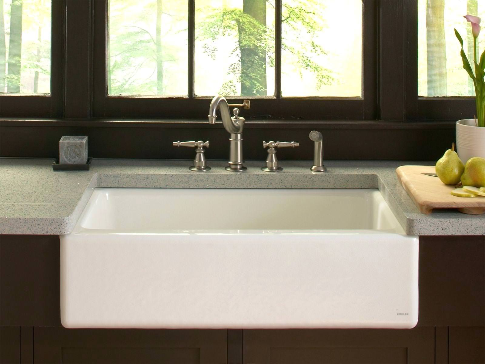 Picture of: Kohler Farmhouse Sink