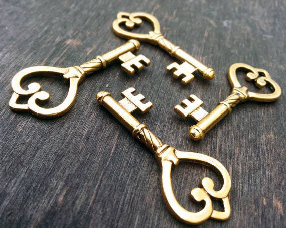 Picture of: Large Antique Keys