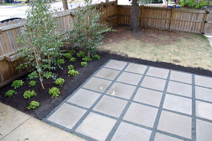 Image of: Large Concrete Pavers