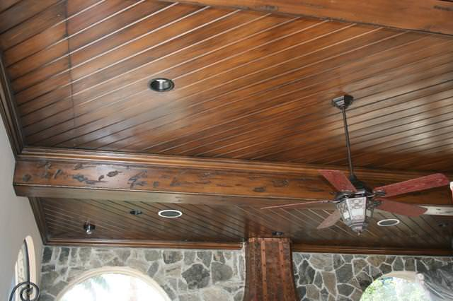 Image of: Lowe'S Tongue And Groove Pine