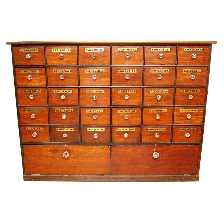 Image of: Monarch Apothecary Bombay Chest Distressed
