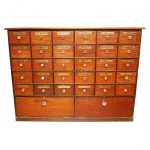 Big Monarch Apothecary Bombay Chest Distressed