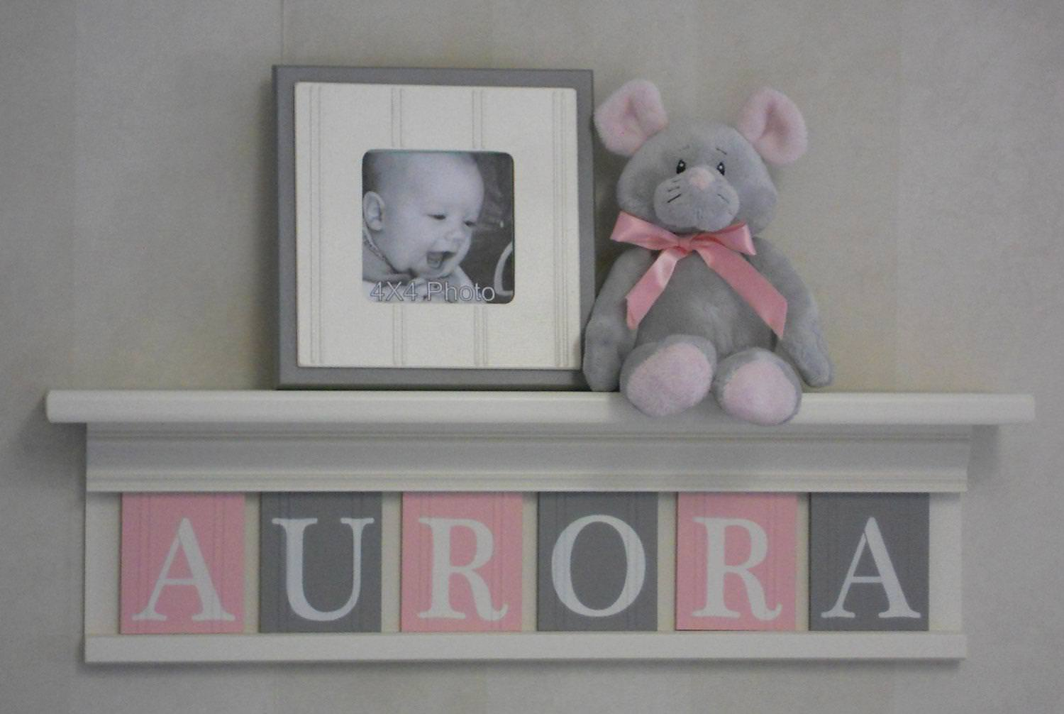 Picture of: Nursery Letters Michaels