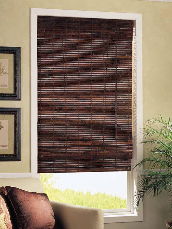 Image of: Outdoor Bamboo Shades