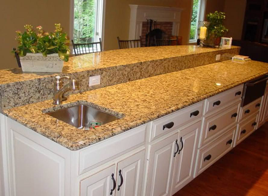 Image of: Santa Cecilia Granite Colors