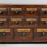 Small Apothecary Chest