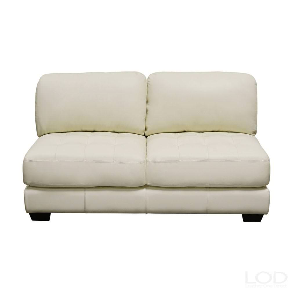 Small Armless Loveseat