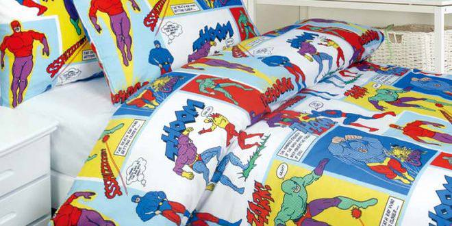 Picture of: Superhero nursery bedding
