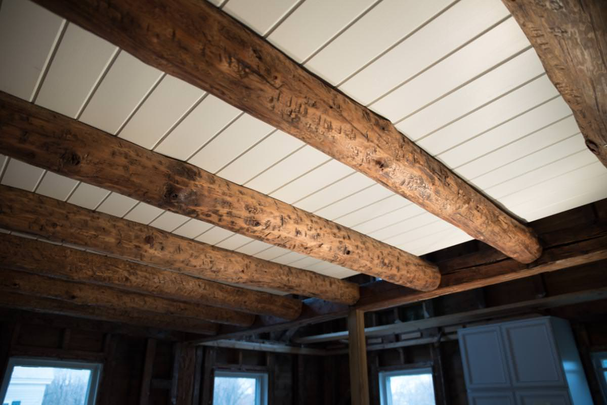 Image of: Tongue And Groove Ceiling Boards