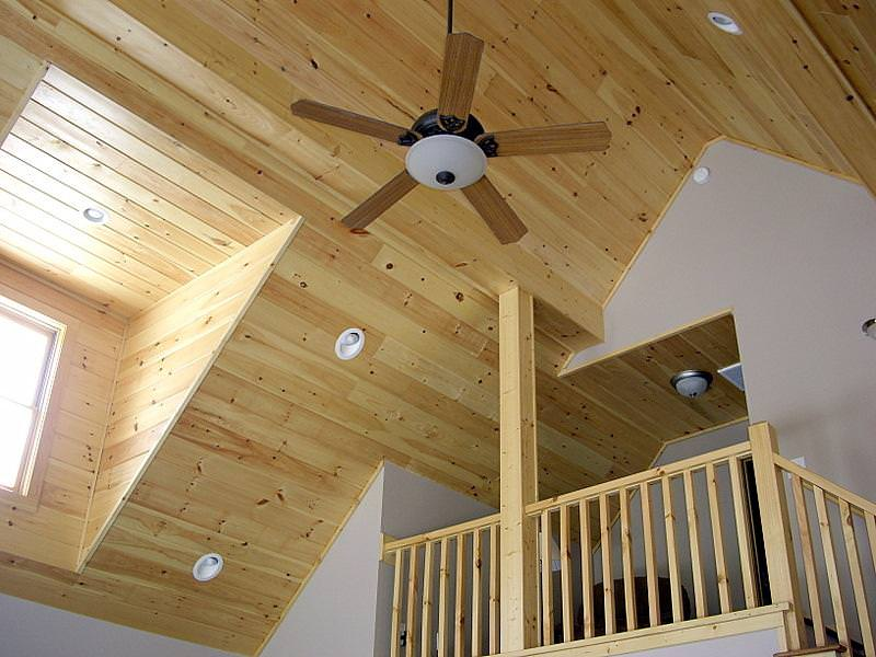 Image of: Tongue And Groove Ceiling Home Depot