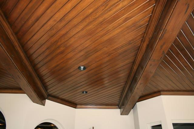 Image of: Tongue And Groove Ceiling Installation