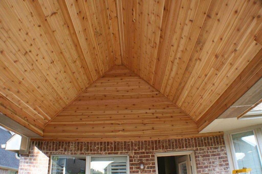 Image of: Tongue And Groove Pine Ceiling Lowes