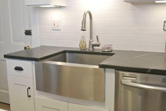 Picture of: Top Mount Farmhouse SinkFarmhouse Sink Stainless Steel