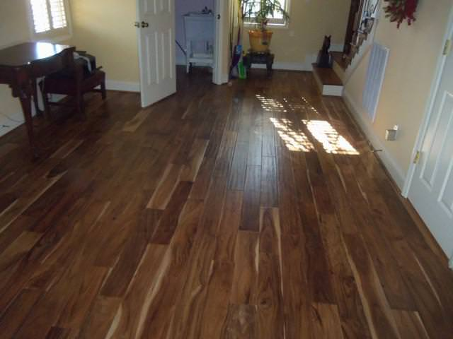 Unfinished Acacia Wood Flooring