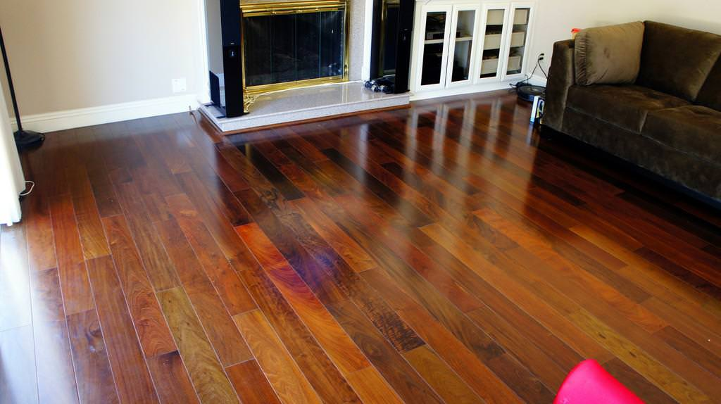 Picture of: Unfinished Brazilian Walnut Flooring