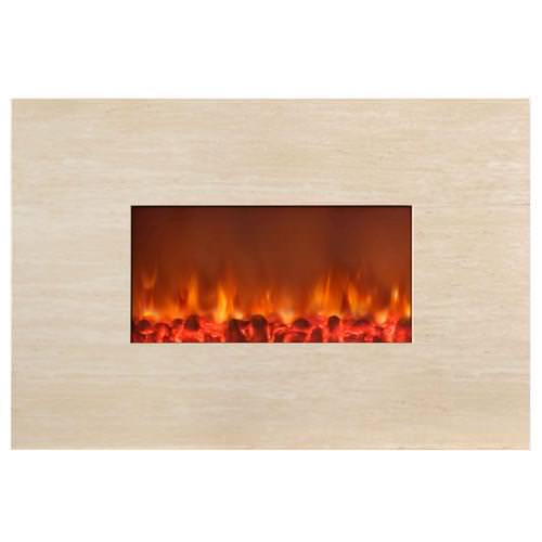 Image of: Wall Mount Electric Fireplace By Northwest