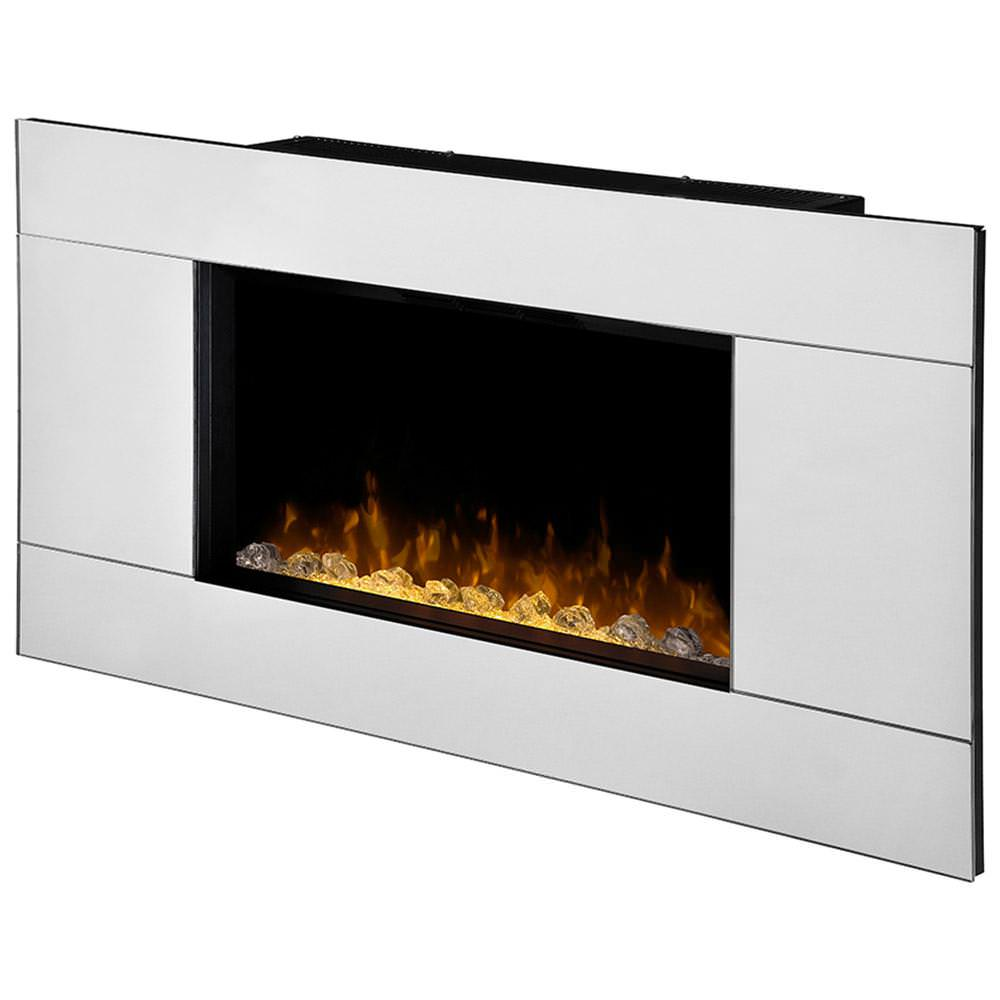 Image of: Wall Mount Electric Fireplace Ideas