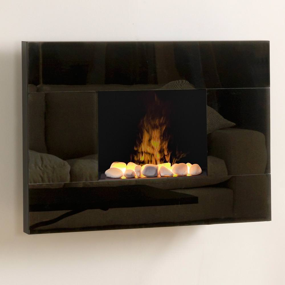Image of: Wall Mount Electric Fireplace Lowes