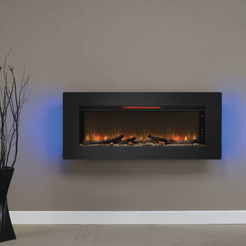 Image of: Wall Mount Electric Fireplace Reviews