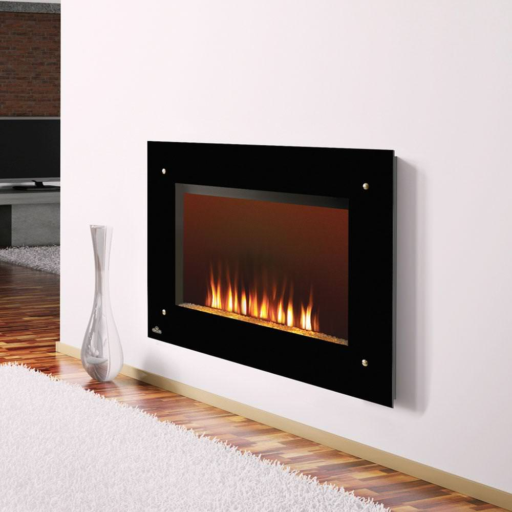 Image of: Wall Mount Gas Fireplace