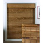 White Bamboo Blinds