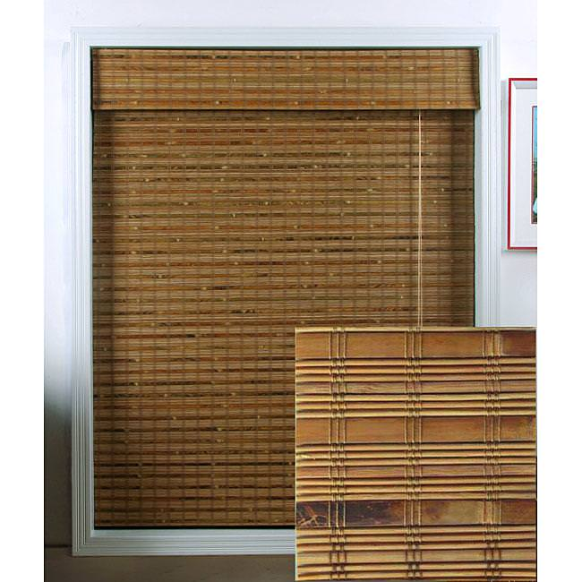 Image of: White Bamboo Blinds