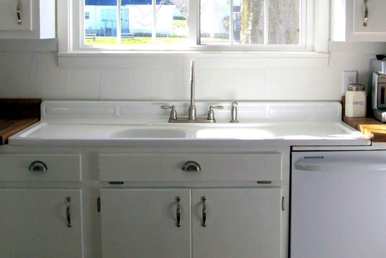 White Farmhouse Sink Double