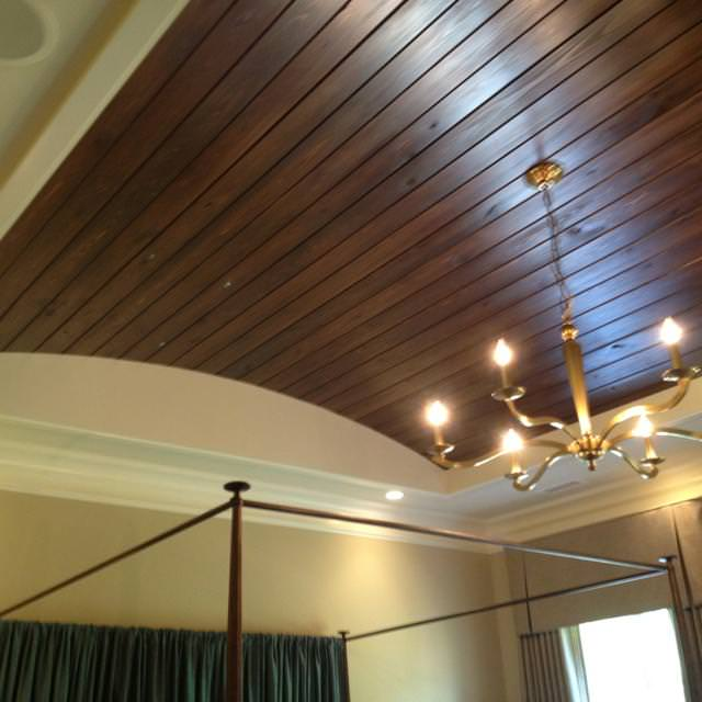 Image of: White Tongue And Groove Ceiling
