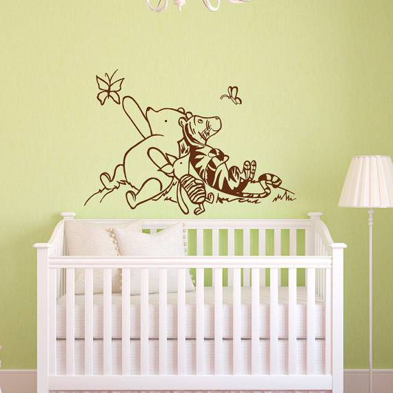 Picture of: Winnie The Pooh Nursery Curtains