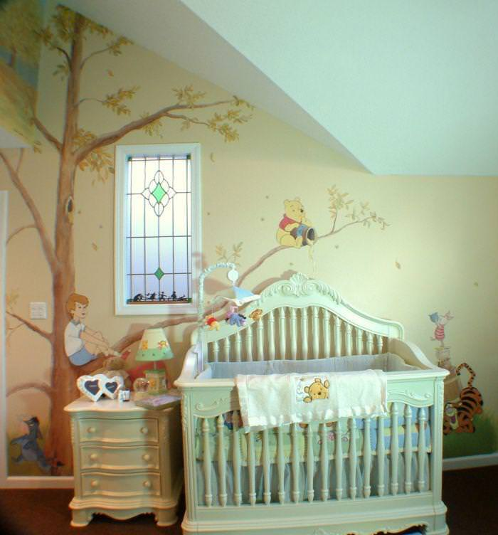 Picture of: Winnie The Pooh Nursery Decor