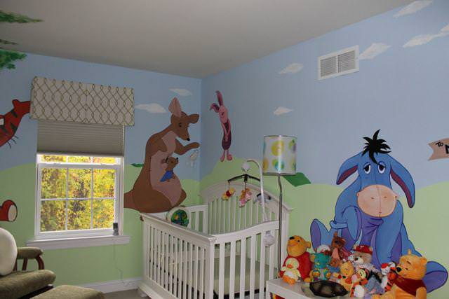 Picture of: Winnie The Pooh Nursery Rug