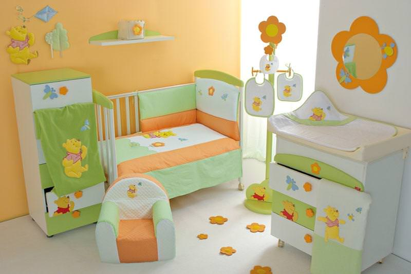 Picture of: Winnie The Pooh Nursery Set