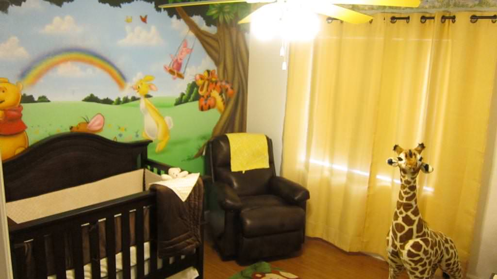 Picture of: Winnie The Pooh Nursery Theme